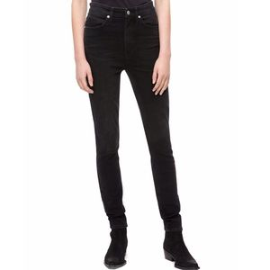Calvin Klein Faded Black High Rise skinny Jeans 27